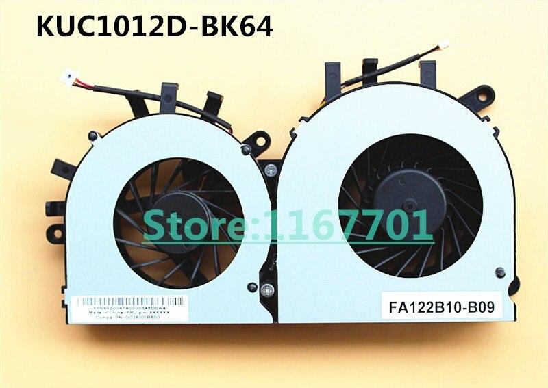 Nouveau ventilateur de refroidissement d'origine pour ordinateur portable/ordinateur portable CPU/GPU pour Lenovo IdeaCentre B345 B545 KUC1012D-BK64 KSB0705HA FA122B10-B09 90200473