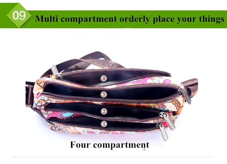 Naiste Messenger Kotid Käekott Lady Põhjuslik Väike Rist keha - Käekotid - Foto 5