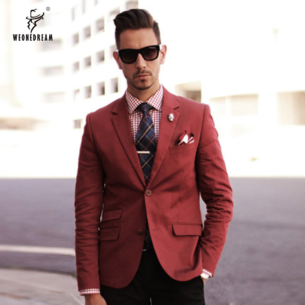 Mens Suits Red - Go Suits