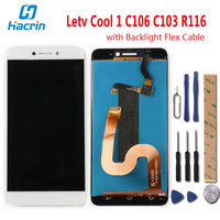 Leeo Letv Cool 1 C106 C103 R116 LCD Display Touch Screen New Digitizer Screen Glass Panel
