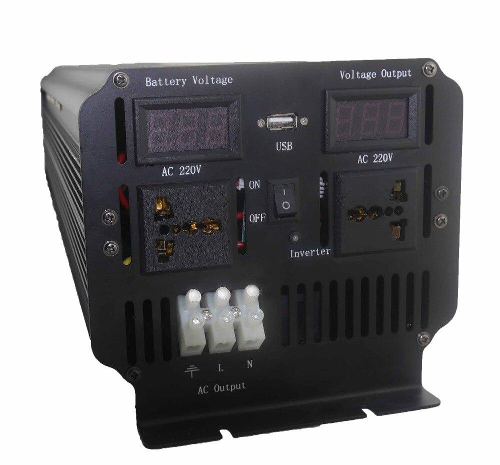 Top Qualidade de 5000 watts DC para AC Potência Do Inversor made in China 12 V 220 V potência de 10000 watts de pico