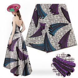 Drukuje afrykańska tkanina ankara wydruk woskowy tkanina wyszywana kamieniami tkanina woskowa 2017 najnowsze 100% bawełna do szycia 6 jardów W17072703