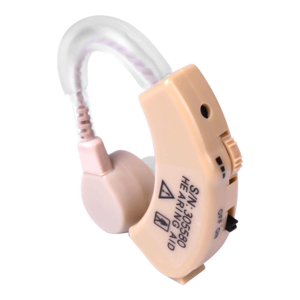Alat Bantu Dengar Xingma XM-907 Kecil Alat Bantu Dengar untuk Orang Tua Terbaik Suara Suara Amplifier Tak Terlihat Mini Nyaman Di Belakang Telinga