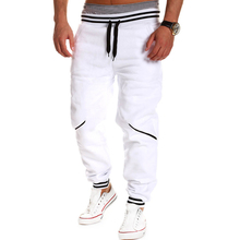 Mens Cargo Pants 2016 Casual Harem Baggy Hip Hop Hosen Hosen Mode Tanzsweatpants Elastische Hose M-4XL A123