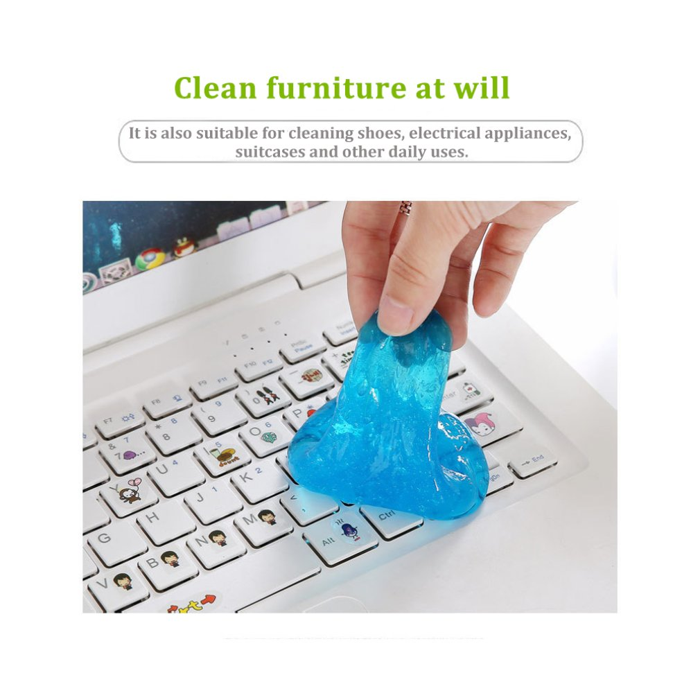 Keyboard Cleaner Fast Cleaning Glue High Tech Cleaner Keyboard Car Wipe Clean Slimy Gel For Phone Laptop Keyboard