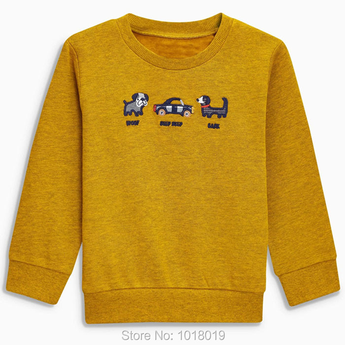 New 2018 Children Sweatshirts Baby Boy Clothes Brand Quality 100% Terry Cotton Baby Boys Hoodies Kids Sweater Bebe t shirts Boys