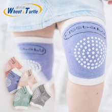 Baby Cotton Knee Pads Kids Anti Slip Crawl Necessary Knee Protector Babies Leggings Children Leg Warmers For Baby Playing Fun все цены