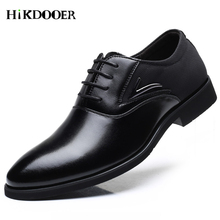 Men Luxury Leather Oxford Shoes Mens Business Formal British Style Oxfords Fashion Brand Retro Vintage Dress