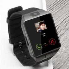 цена Bluetooth smart watch Intelligent Wristwatch Support Phone Camera SIM TF GSM for Android iOS Phone dz09 pk gt08 a1 men and women онлайн в 2017 году