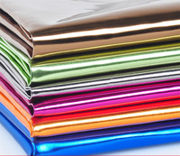 100 138cm 24 Colors High Quality Shiny Vinilic PU Leather Fabric For DIY Sewing Sofa Belt