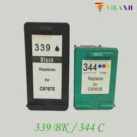 For HP 339 344 Ink Cartridge For HP Deskjet 460 5740 5745 5940 6520 6540 6620