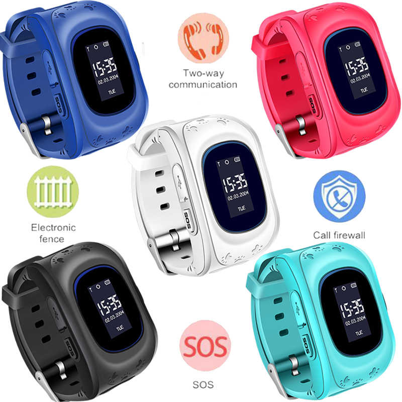 BANGWEI GPS Smart Watch Kid Safe smart Watch SOS Call GPS Second Generation Chip SOS Call Location Finder Relogio infantil+Box