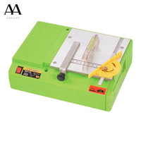 AMYAMY Mini table saw woodworking saws woodworking machine electrical bench saws