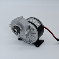 MY1016Z 350W 24 36V Small Electric Tricycle Agricultural Machinery And Equipment DC Gear Motor For Electric