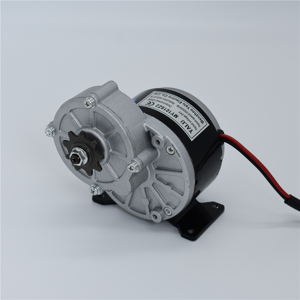 MY1016Z3 350W 24/36V small electric tricycle agricultural machinery and equipment DC gear Motor for electric hydraulic press agricultural land suitability evaluation and analysis