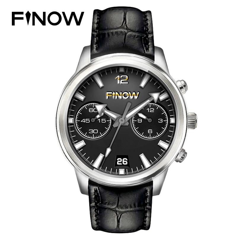 Hot Sale Finow X5 Air Smart Watch Android 5.1 MTK6580 Ram 2GB/Rom 16GB Amoled Watch PK KW88 LEM5 Pro/LES1 3G BT Phonewatch