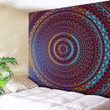 Ombre Wall Tapestry Bohemian Mandala Hanging Retro Hippie Boho Decor Cloth Bed Sheets Large Size New