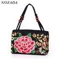 New 2016 Handbag Woman Handbag Bag New Fashion Bag High Quality Canvas Embroidery Handbag Free Shipping sst-002