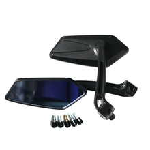 Universal One Set Motorcycle Rear Mirror Scooter 8mm 10mm Motorbike Modification Back Side Mirrors For HONDA YAMAHA SUZUKI