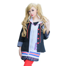 цены Persona 5 Ann Takamaki Cosplay Costumes School Girls Uniforms Jacket+Hoodie+Skirt+Socks For Halloween Party