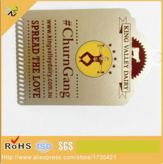 Custom Made Pas Cher Cartes De Visite En Mtal Dacier Avec Imprim Logo