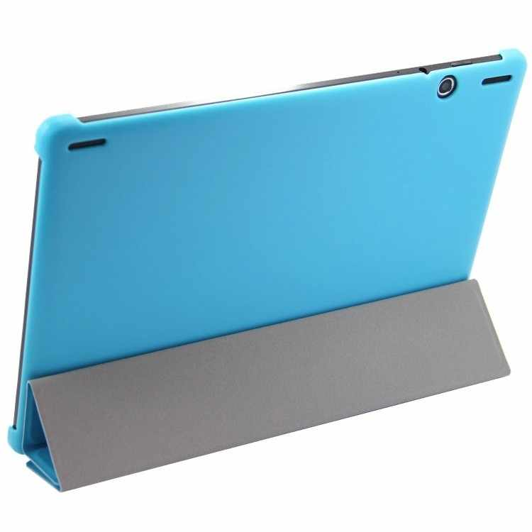 Ultra Slim Flip Stand Case for Lenovo S6000 S6000H S6000F S6000G 10.1 Inch Tablet Hard Cover PU Leather Folding Folio Shell+pen