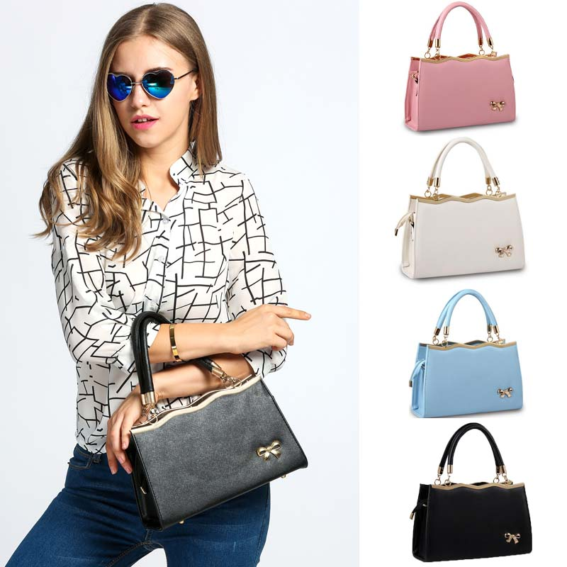 68b21c6e1436 Новый дизайн Для женщин Сумки Повседневное Tote Воме из искусственной кожи Сумки  сумка на ремне Модные женские Курьерские сумки VY