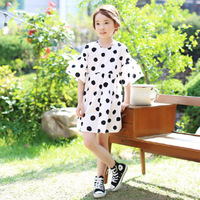 Chiffon Baby Teenagers Girls Summer Dress 7 8 10 12 14 4 6 Years Flare Sleeves