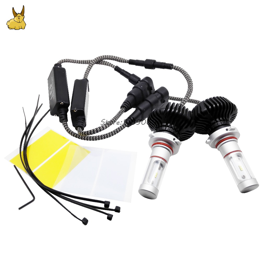 H4 H7 H8 H9 H11 H1 H3 9005 9006 9012 COB LED Car Headlight light Hi-Lo Beam Bulb 30W 3000LM 6000K Auto Headlamp 12v 24v 1 pair dc 9 36v h4 cob 80w led car headlight kit hi lo beam bulbs 6000k