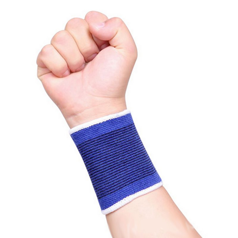 A Pair High Elasticity Sports Safety Wrist Support for Gym Sport Carpal Protector Wrist Nylon Brace