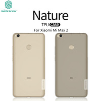 Xiaomi Mi Max 2 Case 6 44 NILLKIN Nature Clear TPU Transparent Soft Back Cover Case