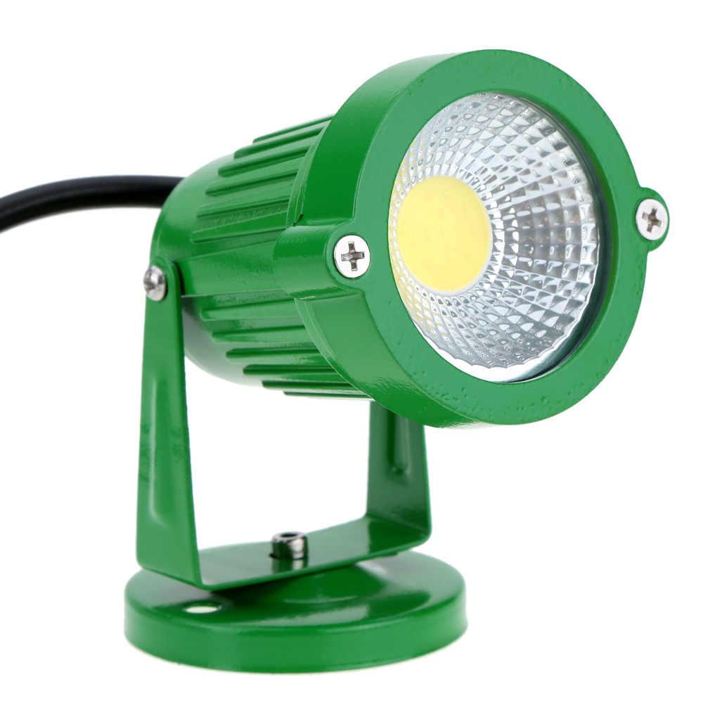 Светодиодный точечный встраиваемый светильник мощностью 5 Вт уличная газонная Лампа двор светильник лужайки IP65 светодиодный Ландшафтный садовый прожектор теплый белый/RGB AC12V