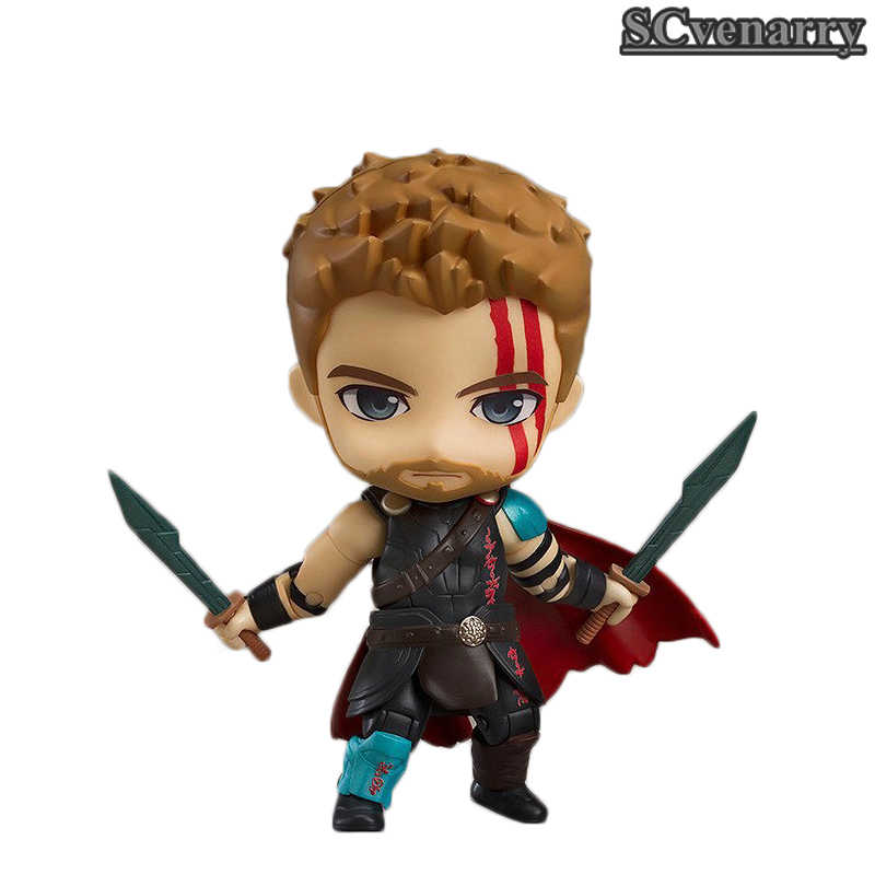 The Avengers Thor Odinson Nendoroid 863 Bonito Kawaii Super Hero Action Figure Toys 10 cm