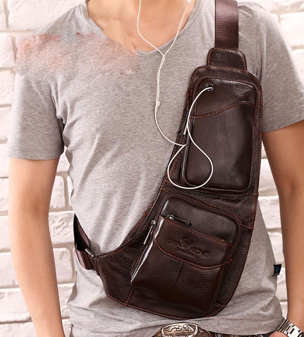 2017 couro genuíno bolsa de Tipo de Ítem : Messenger Bags