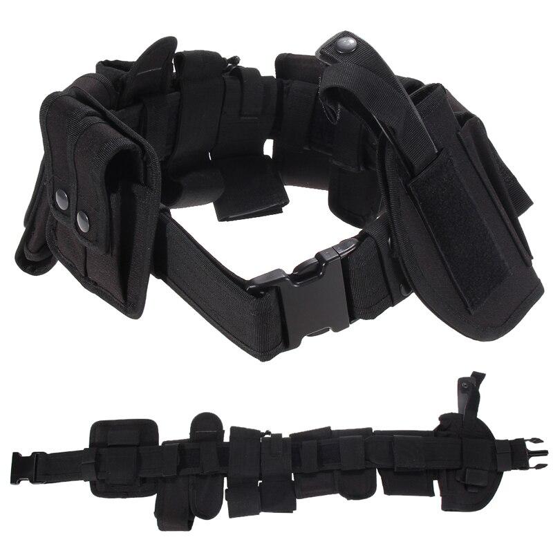 Envío gratis Multifunción Cinturón Táctico Kit Utility Guardia de La Policía de