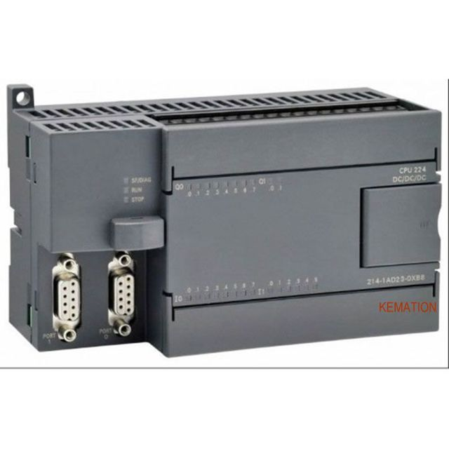 cpu 224 6es7 214 1ad23 0xb0 6es7214 1ad23 0xb0 compatible simatic s7 rh aliexpress com plc Input Card Wiring-Diagram plc Panel Wiring Diagrams