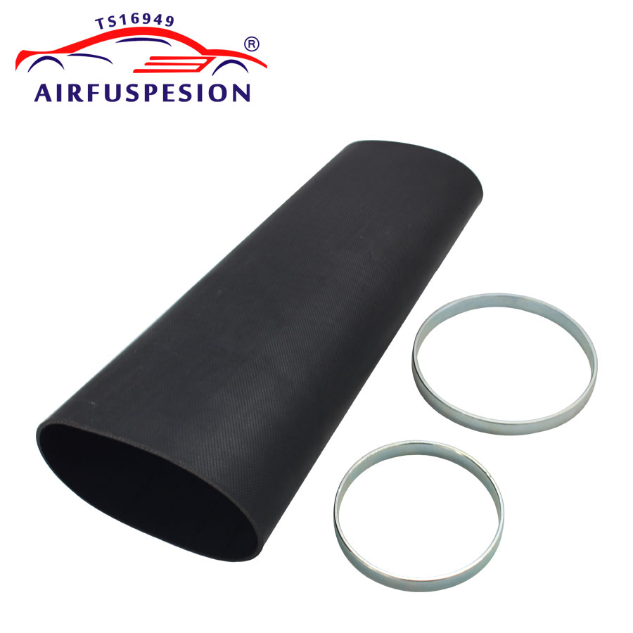 For Audi A6 C5 4B Front Pillow Rubber Sleeve with rings Air Bellow Air Suspension Repair