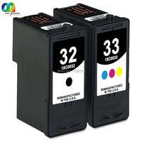 2 Multi-Pack 32 33 Inkt Inkjet 18C0032 18C0033 Compatibel Voor Lexmark P315 P915 P4350 P6210