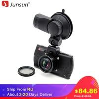 Junsun A790 Ambarella A7LA70 Car DVR Camera GPS With Speedcam 1296P Full HD 1080p 60Fps Video