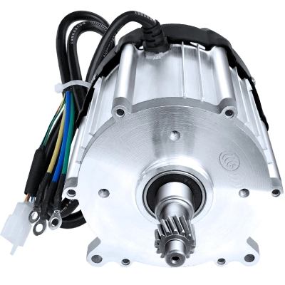 DC48V/60V/72V 1000W 3200rpm DC permanent magnet brushless differential motor 16 teeth electric vehicle / scooter / moped power