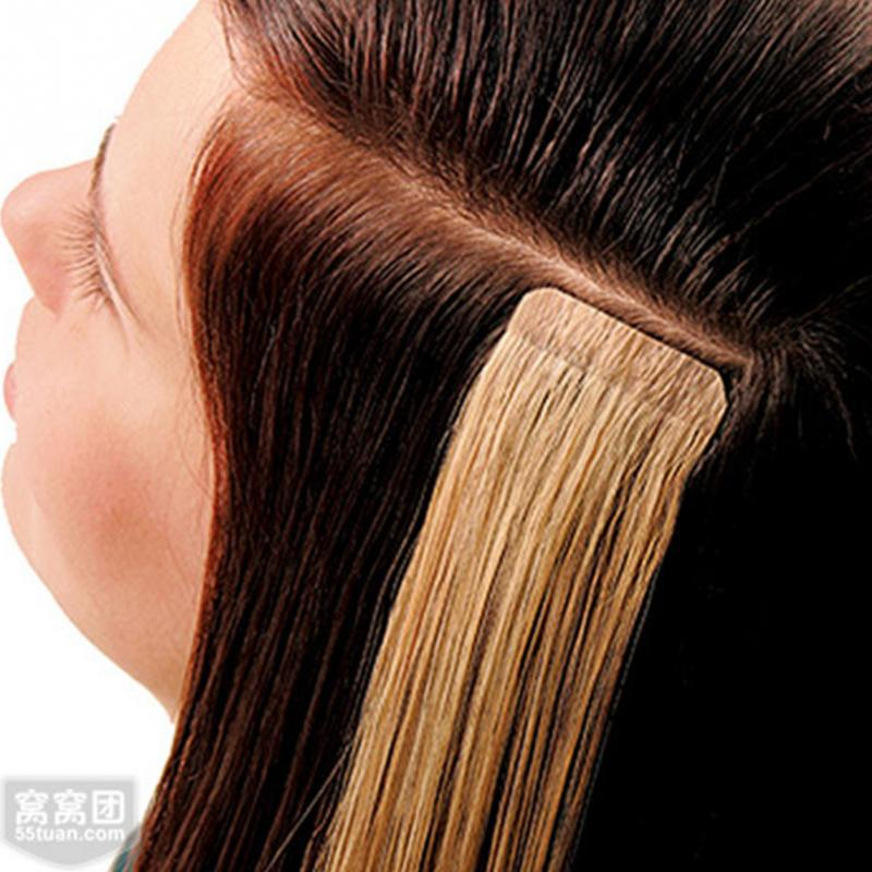 High Quality 1cm*3m Double Sided Tape PU Hair Extension Human Wig Adhesive Glue Tapes graceful short side bang fluffy natural wavy capless human hair wig for women
