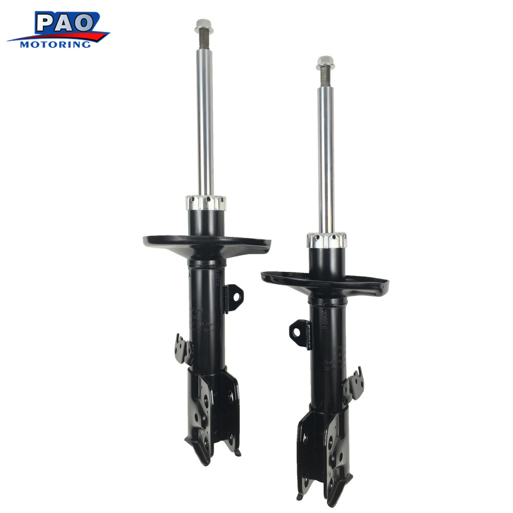 2PC New Front Left & Right Pair Shocks Struts Absorber for 2009-2013 Toyota Corolla Matrix,Pontiac-Vibe OEM 72598,72597 цена