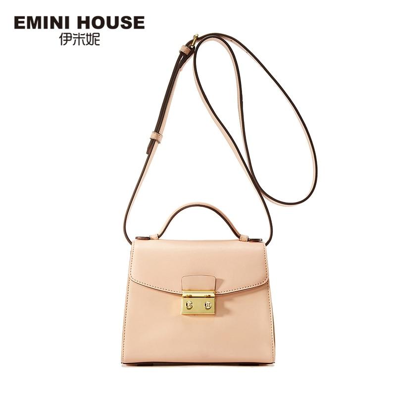 Crossbody-Bags Bags Designer Messenger-Bag Emini House Women Luxury for Handbags Ship