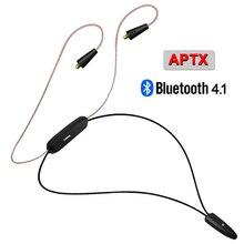 2017 Nueva NICEHCK HB1 Auricular Inalámbrico Bluetooth 4.1 de ALTA FIDELIDAD de Cable MMCX Uso Para SE846 Cable Soporte Apt-x Aptx LZ A4 A3 Shanling M1