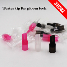 20 pcs/lot 331332 Disposable PC tester Tip Silicone Test Mouthpiece Individually Packing in red clear black premium price