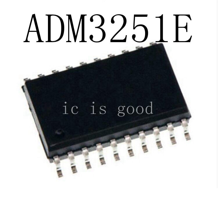 1PCS ADM3251E SOP-20 ADM3251EARWZ  RS-232 Line Driver//Receiver IC ADM3251EARW
