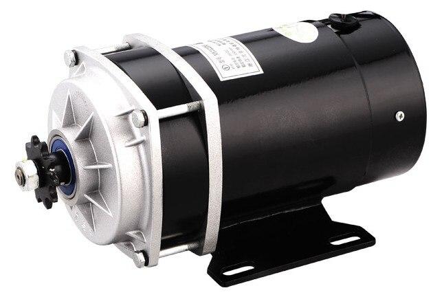 650 W 24 V/36 V/48 V, motor triciclo eléctrico del motor del cepillo, motor cepillado engranaje de la CC, motor eléctrico de la bicicleta, MY1122ZXF