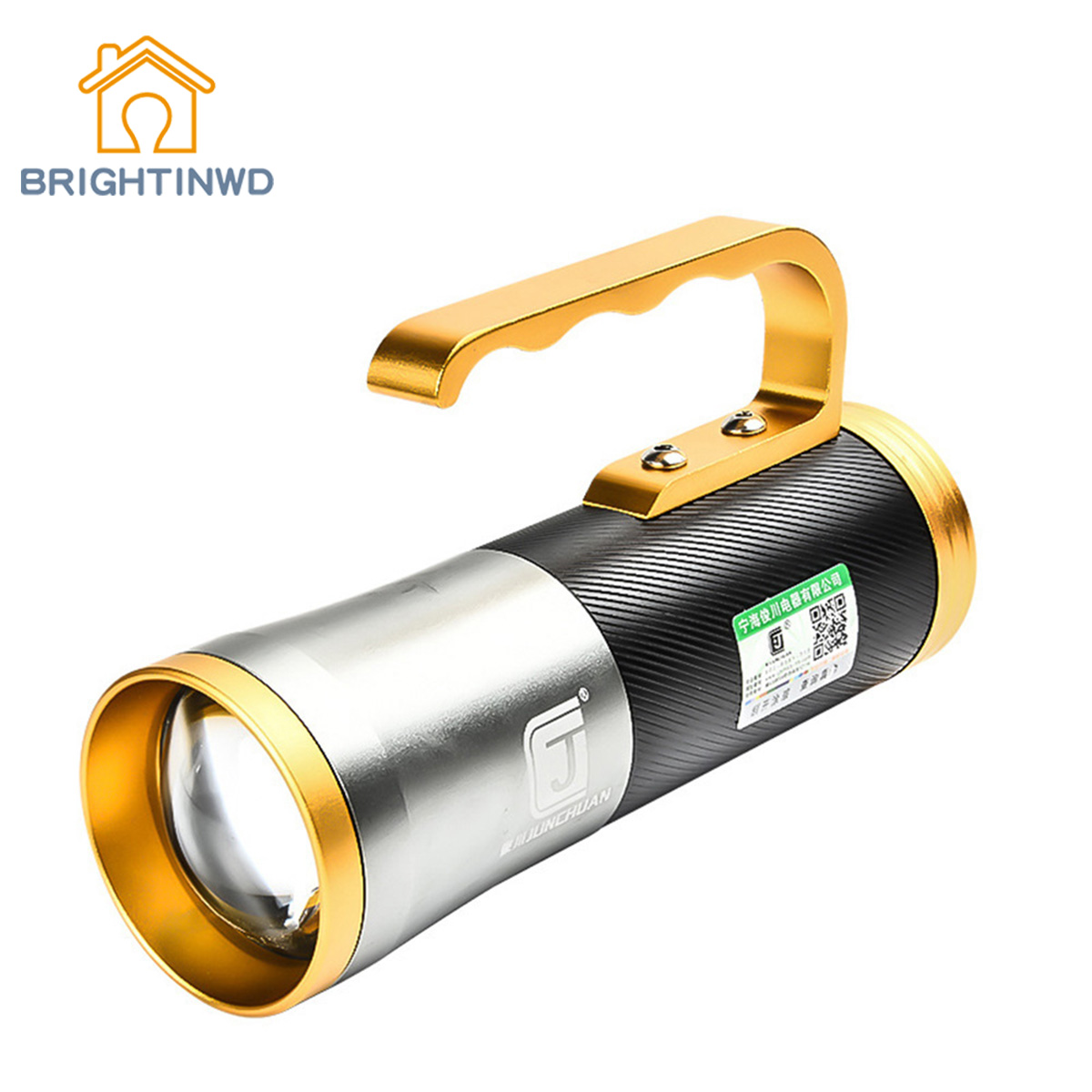 BRIGHTINWD Portable Lantern Flashlight 30W Lantern Campfire Luminarias Outdoor Camping Flashlight Lantern Searchlight Camp Light fenix cl20 outdoor light lantern