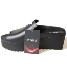 ZDRD Fashion Summer Sandals women Pure color Fish mouth funny adult slippers leisure joker Trifle sandals home shoes for women