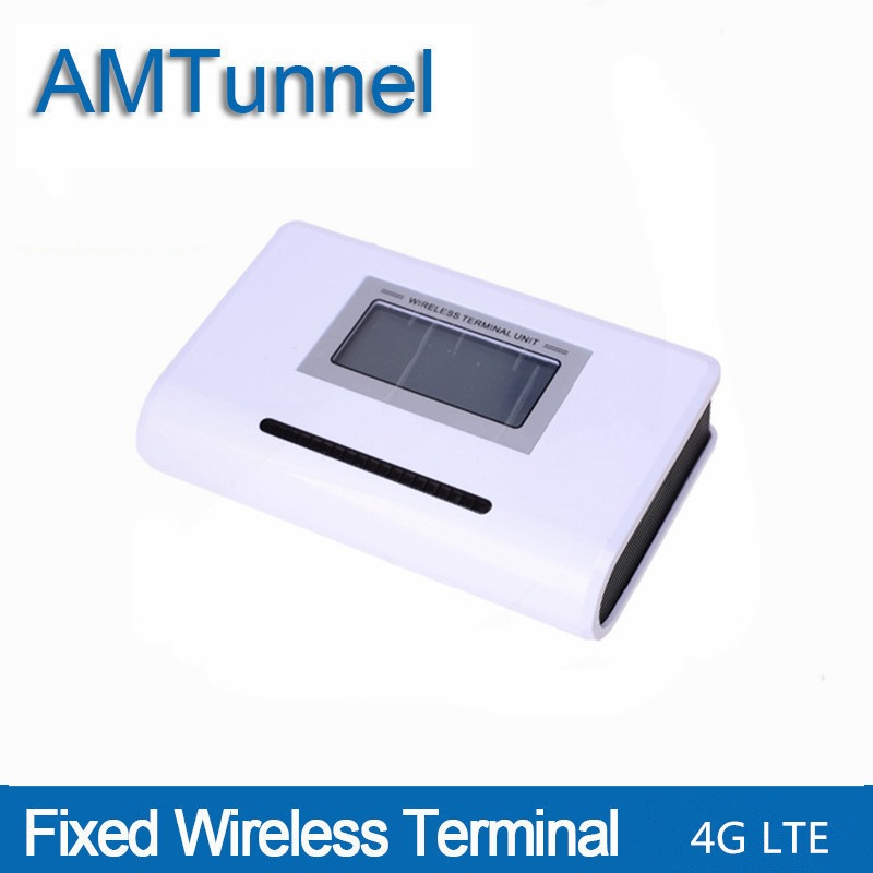 4G LTE fixed wireless terminal phone LTE 4G FWT destop phone with LCD display for connecting